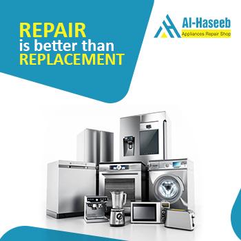 We repair all home appliances in Dubai
